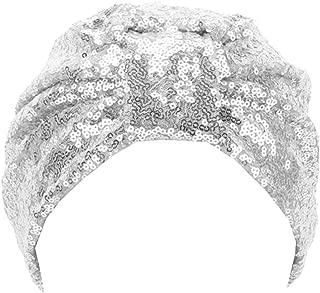 Radish Stars Fashion Glitter Sequins Head Wrap Various Streetwear Indian caps for Women