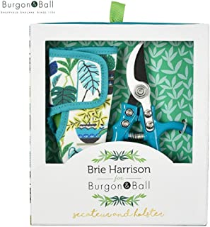 Burgon and Ball Brie Harrison Secateur and Holster Gardening Gift Set
