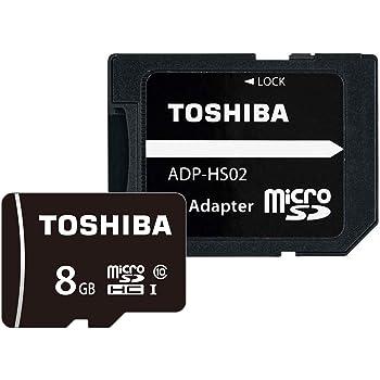 東芝 microSDHCカード 8GB Class10 UHS-I対応 (最大転送速度48MB/s) 国内正規品 Amazon.co.jpモデル THN-MW08G4R8