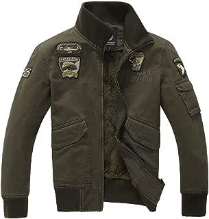 LENXH Men's Jacket Fashion Shirt Casual Blouse Solid Color Leather Zipper Jacket Leather Baseball Uniform