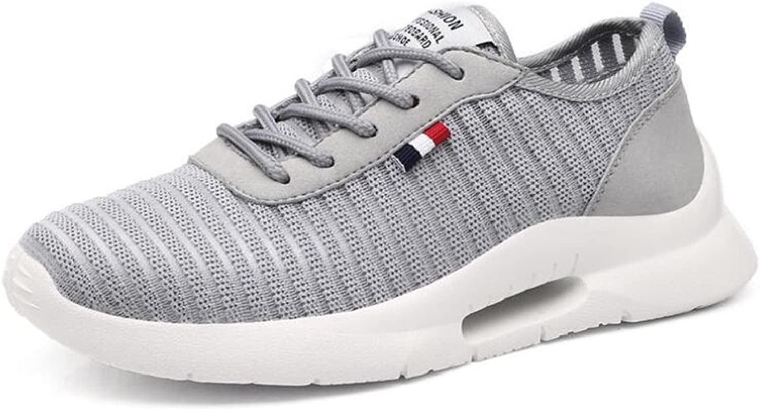Exing Womens's shoes New Mesh Little White shoes,Summer Mesh Ladies Sneakers,Light Soles Lace-up Academy shoes