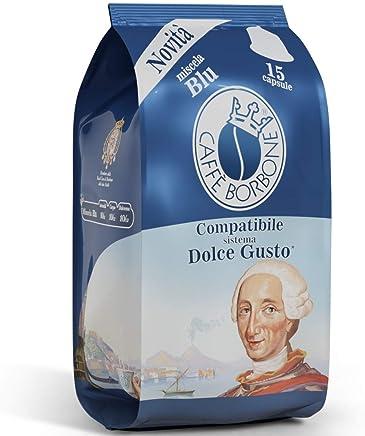 Caffè Borbone Compatibile Dolce Gusto Miscela Blu - 90 capsule