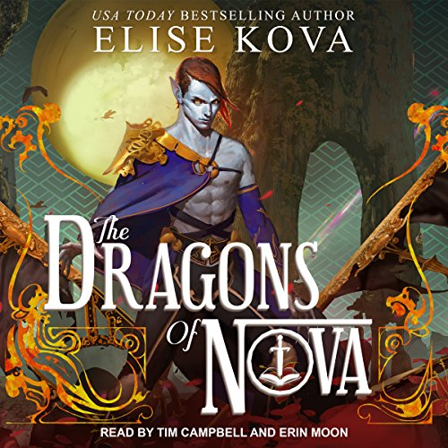 The Dragons of Nova audiobook cover art