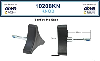 Mimi Lite Deluxe Aluminum Rollator Accessories - 3 Point Knob W/Bolt - One Each