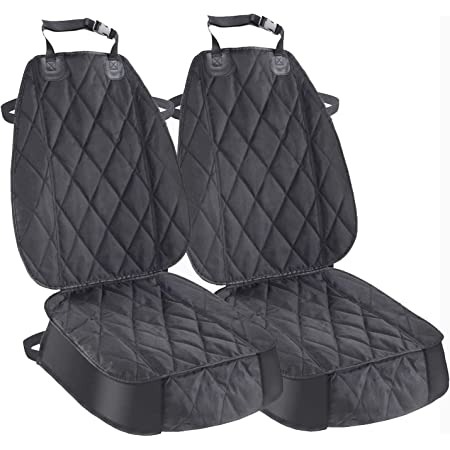 AsFrost Dog Seat Cover Cars Trucks SUVs, Thick 600D Heavy Duty Pets Car Seat Cover, Waterproof & Wear-Resistant Durable Nonslip Backing & Hammock Convertible