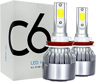 2PCS 200W 20000LM LED Faro Lampada Automatica 6500K 9005 ETbotu Lampadine Auto LED,Lampadina LED for Faro
