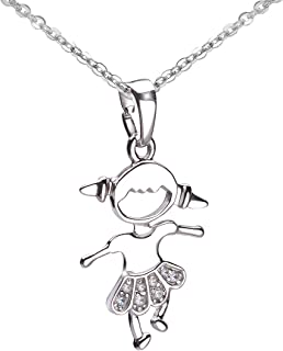 Zirkonia Tukan Vogel Anhänger Kette 925 Echt Silber Mädchen Damen Kinder NR7065