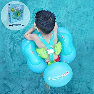 【 Professional Edition】 Anti-Flip and Slip Baby Swimming Float Ring for Pool, Toddler Floaties Inflatable Baby Tube for The Age of 3 Months- 6 Years.(XL)