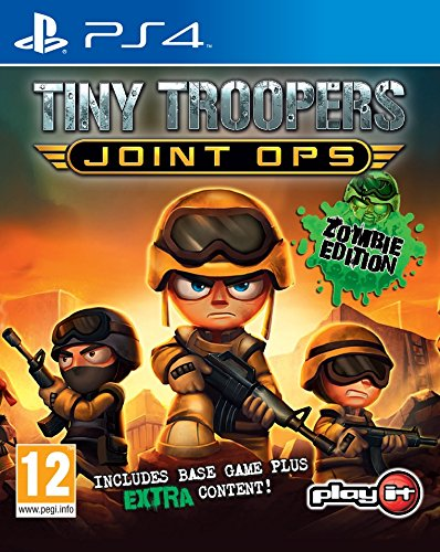 Tiny Troopers Joint Ops Now on sale New product PS4 Sony
