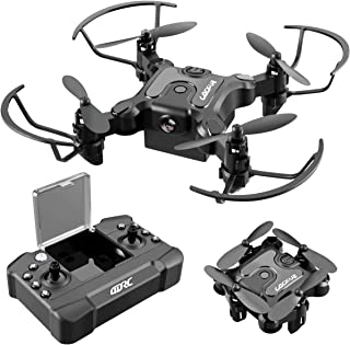 4DRC V2 Foldable Mini Nano Drone for Kids Beginners Gift,Pocket RC Quadcopter with 3 Batteries,Altitude Hold, Headless Mod...