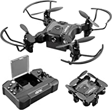 $28 » 4DRC V2 Mini Drone for Kids RC Foldable Nano Drone Beginners Pocket Quadcopter for Boys and Grils Toys with Altitude Hold, Headless Mode, 3D Flips, One Key Return and Speed Adjustment and 3 Batteries