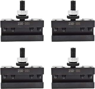 "AXA 4Pcs #1 Quick Change 250-101 Tool Post Turning & Facing Holder 6-12"""