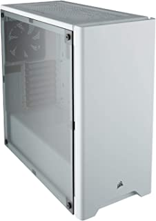 CORSAIR CS-CC-9011131-WW Carbide Series 275R Mid Tower ATX Gaming Computer Case, White Window