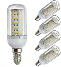 LED Lamp 5 Pcs,Low Voltage 12V LED Bulbs,G9 / E12 / E14 / E27 12-80v,6w Light Bulb - 40w Halogen Equivalent - Off Grid Sol...