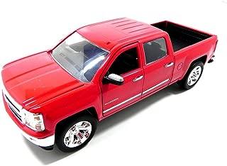 Jada 2014 Chevy Silverado Pickup Truck 1/24 Scale Diecast Model Vehicle Red