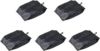 Travel Shoe Bag with Zipper, Portable Shoe Bag Organizer for Mens & Womens Shoe, 5 Pack