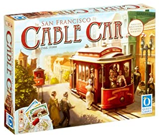 Queen Games 60551 - Cable Car, Brettspiel (B002TOK9WY) | Amazon price tracker / tracking, Amazon price history charts, Amazon price watches, Amazon price drop alerts