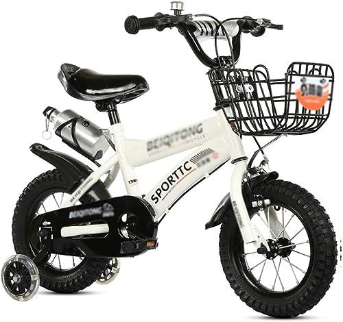 promociones emocionantes DWW-bicicleta Niños Niños Niños bicicleta Rueda de flash de acero de alto carbono Ajustable antideslizante amortiguación paseo saldo al aire libre Bicicleta para Niños bicicleta  descuentos y mas