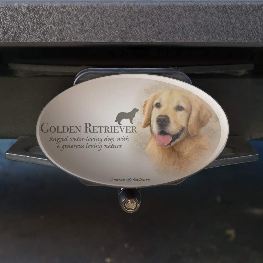 Graphics and More Boxer Dog Breed Oval Tow Hitch Cover Trailer Plug Insert 1 1//4 inch 1.25
