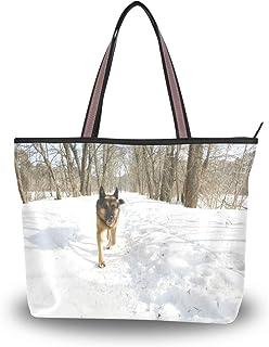 My Daily Damen Schultertasche Deutscher Schäferhund Handtasche