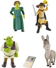 Price Toys Shrek Mini Figura Juguetes - Fiona, Shrek, Burro y el Gato con Botas (Shrek/Fiona/Donkey/Puss in Boots)