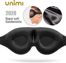 Schlafmaske Frauen /& Herren,【2020】3D Seide Schlafmaske Verstellbar,100/% Lichtblockierende Premium Augenmaske,Schlafbrille f/ür Reisen,Schichtarbeit /& Nickerchen,Inklusive Ohrst/öpsel,Aufbewahrungsbeutel