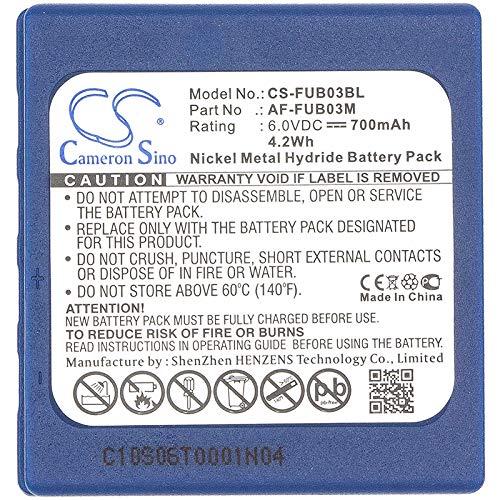CS-FUB03BL Batteria 700mAh compatibile con [HBC] BA222060, FUA71, FUB 3A, FUB3A, Radiomatic BA203060, Radiomatic BA222060, Radiomatic Fub03A, Radiomatic Micron 4, Radiomatic Micron 5, [ABITRON] TGA,