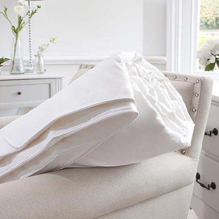 Jasmine Silk 100% mûrier Soie rempli Couette Naturelle de Duvet (200x200cm) Poids d'été (300gm²) Anti Mites + Anti Moustiques + Anti Punaises de Lit