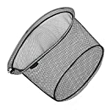 SANLIKE タモ網 アルミオーバルフレーム 大型たも網 折りたたみ玉枠 ランディングネット 玉網45cm