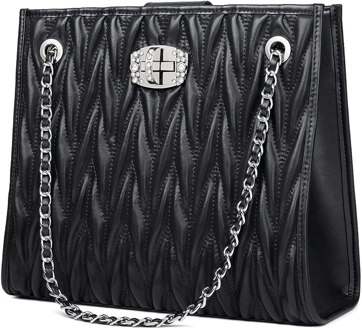 Crossbody Leather Bag Handbags Shoulder Bag for Women with Top Handle