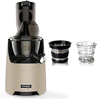 Pack extracteur Kuvings EVO820 Champagne + kit à sorbets et smoothies
