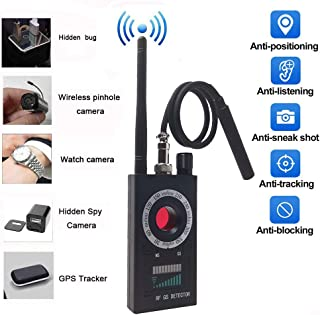 Anti Spy RF Detector - Camera Detector - Wireless Bug Detector Signal - Hidden Camera Detector - GSM Listening Device Finder Radar Radio Scanner Wireless Signal Alarm