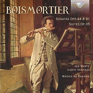 Boismortier: Sonatas Opp. 44 & 91, Suites, Op. 35