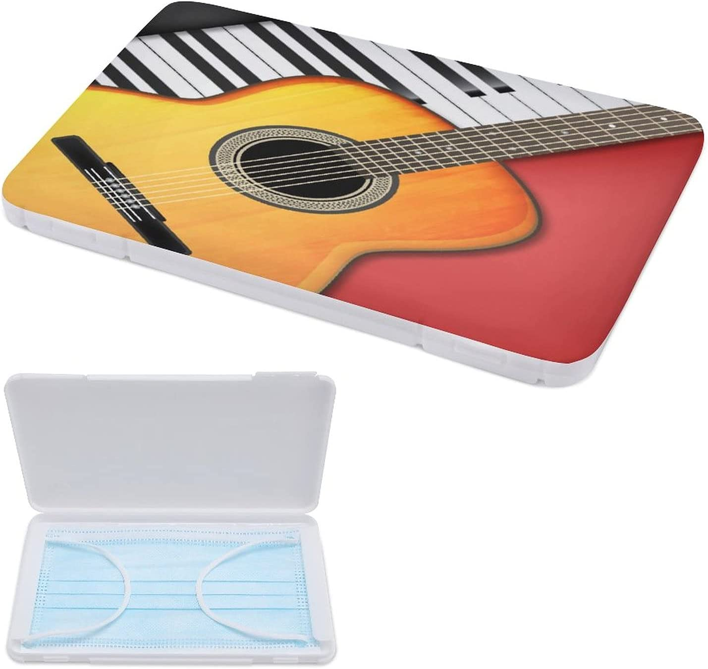 HASENCIV Portable Mask Storage Case Piano Guitar Translated Ins Musical And Ranking TOP13