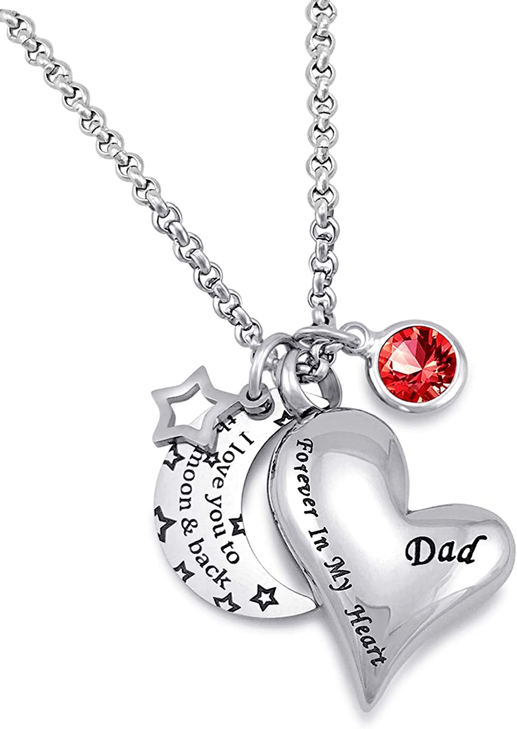 YOUFENG Urn Necklaces for Ashes I Love Max 81% OFF Back Max 41% OFF Moon and You The to