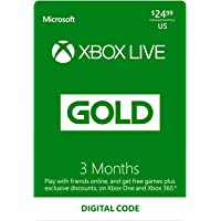 CdKeys.com deals on Microsoft Xbox Live Gold 3 Month Subscription