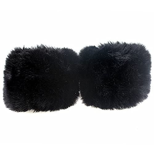 Hearty Fox Fur Cuff Arm Warmer Lady Bracelet Real Fur Wristband Glove High Quality Fox Fur Cuffs Hot Sale Wrist Warmer #p3 Latest Fashion Men's Accessories Men's Arm Warmers