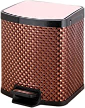 Trash can Stainless Steel Trash Can Household Kitchen Bathroom Trash Bin Chinese Style Simple with Lid Trash Can Creative ...