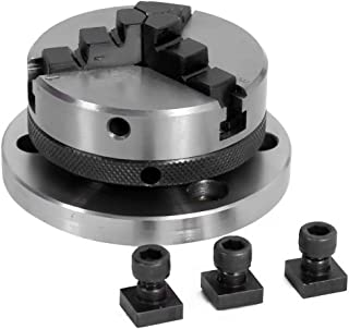 65 mm- 3 Jaws Self Centering Chuck with Back Plate & T-nuts for Milling