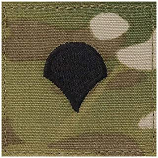 US Army OCP Multicam Rank with Hook Fastener