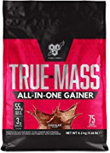 BSN True Mass All In One Weight Gainer Whey Protein Powder with Creatine Glutamine and Vitamin D for Muscle Growth and Recovery Chocolate 4 2 kg 25 Servings Estimated Price : £ 39,95