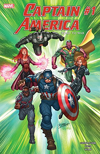 Captain America: Road To War (2016) #1 (English Edition)