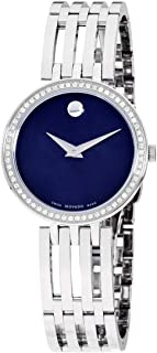 Esperanza Quartz Movement Blue Mother of Pearl Dial Ladies Watch