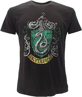 T-Shirt Camiseta BLASON Armas de Casa de Slytherin Harry Potter - 100% Oficial Warner Bros