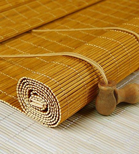 CAIJUN Bambus Vorhang Benutzerdefinierte Vorhänge Retro Bambus Vorhang Vorhang Balkon Abgeschnitten Bambus Vorhang Balkon Abgeschnitten Vorhang Vorhänge Teehaus Restaurant