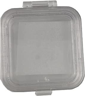 TJIRIS 30 Pcs Handmade Membrane Tooth Box with Film 2 Inches Transparent Denture Box for Dental Crowns/Bridges