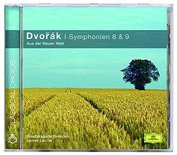 "Dvorák: Symphonies Nos.8 & 9 ""From the New World"""