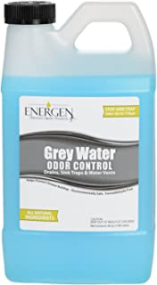 Energen Grey Water Tank Treatment - Holding Tank Odor Control and Cleaner - RV Water Tank Deodorizer - 64 Ounces