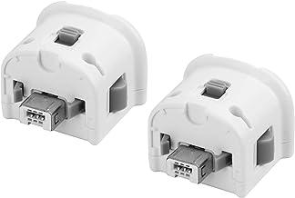 Adaptadores TechKen 2 peças Wii Motion Plus, acelerador de sensor de movimento externo para controle remoto Wii