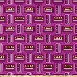 ABAKUHAUS Retro Stoff als Meterware, Nineties Design